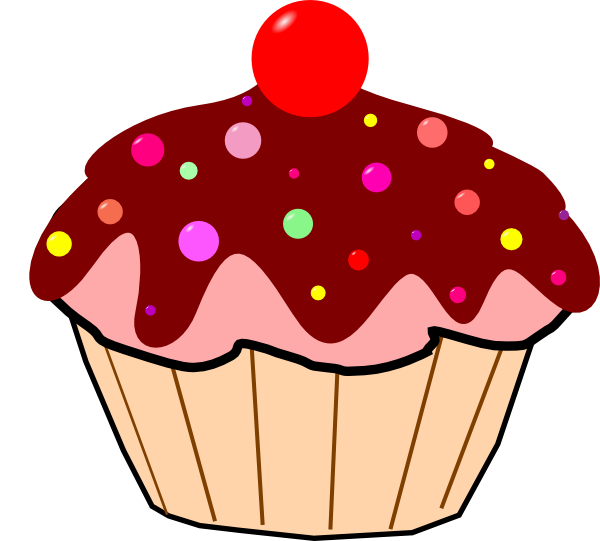 Cupcake Clipart With Faces Cupcake Clipart
